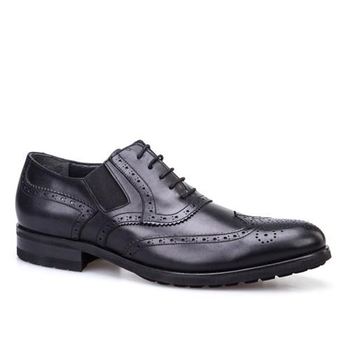Cabani Eva Klasik Erkek Ayakkabı Siyah Deri