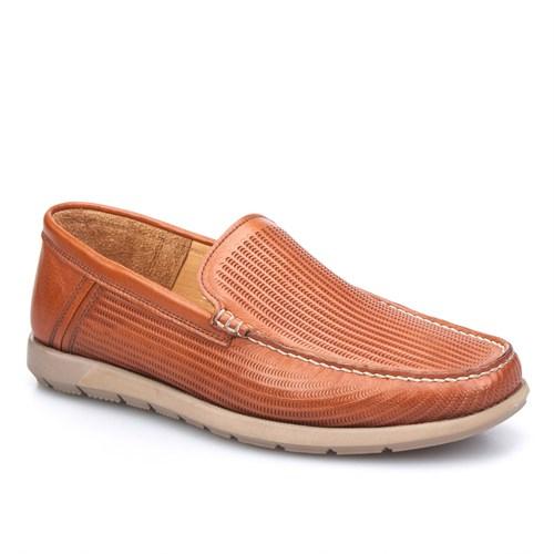 Cabani Extralight Günlük Erkek Ayakkabı Taba Kırma Deri