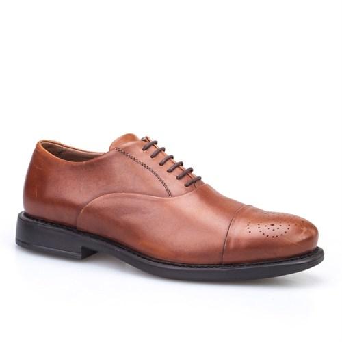 Cabani Bağcıklı Klasik Erkek Ayakkabı Taba Sanetta Deri