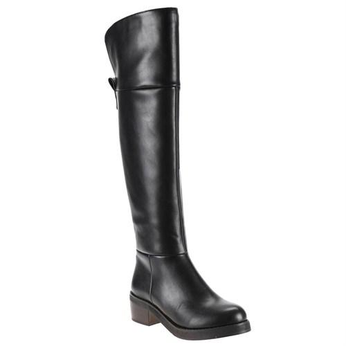 Polaris 52.308072.Z Siyah Kadın Çizme