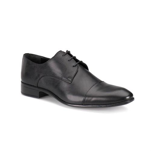 Down Town Bmk-250 M 1602 Siyah Erkek Deri Ayakkabı