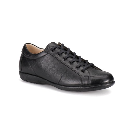 Flogart Gzl-2 M 1494 Siyah Erkek Deri Ayakkabı