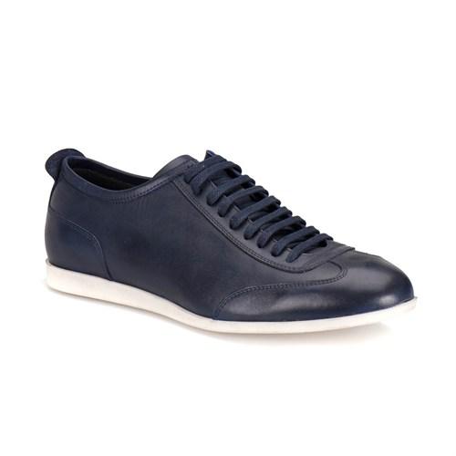 Oxide 300-14 M 1300 Lacivert Erkek Deri Ayakkabı