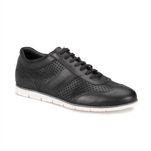 Oxide Selva M 1618 Siyah Erkek Deri Ayakkabı