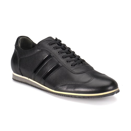Oxide 132 M 1413 Siyah Erkek Deri Ayakkabı