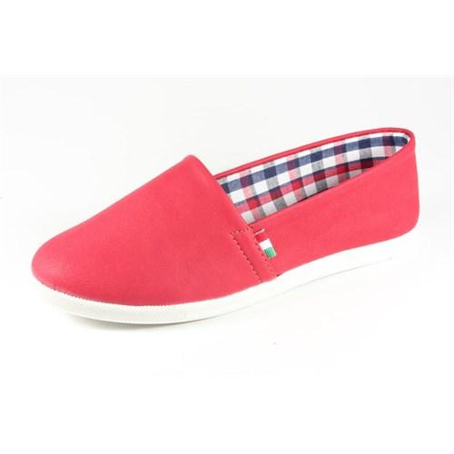 Pink Clover Kırmızı Kadın Babet 741 Cilt