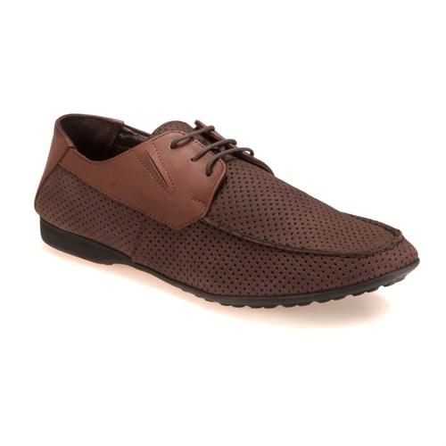 Garamond 2361 M 1366 Kahverengi Taba Erkek Nubuk Deri Ayakkabı