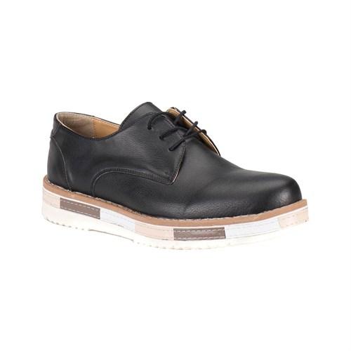 Jj-Stiller Pt-1 M 6686 Siyah Erkek Ayakkabı