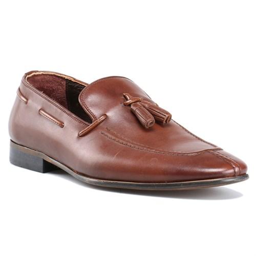 Cordovan Kahverengi Erkek Deri Ayakkabı