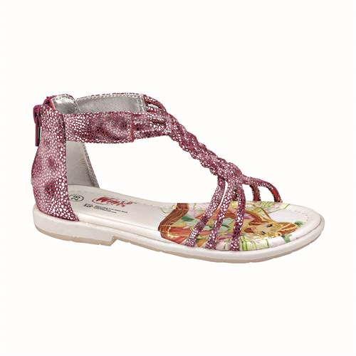 Winx Molly Pembe Kız Çocuk Sandalet