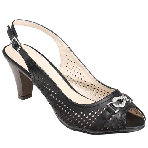 Errica Pablo F16105 Siyah Kadın Ayakkabı