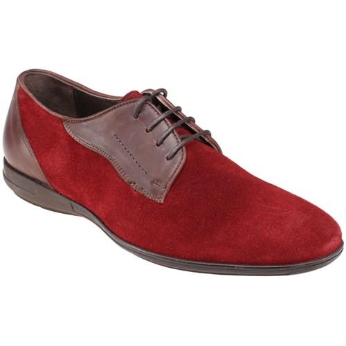 Jj-Stiller Kl-59123-2 M 1506 Bordo Kahverengi Erkek Deri Ayakkabı