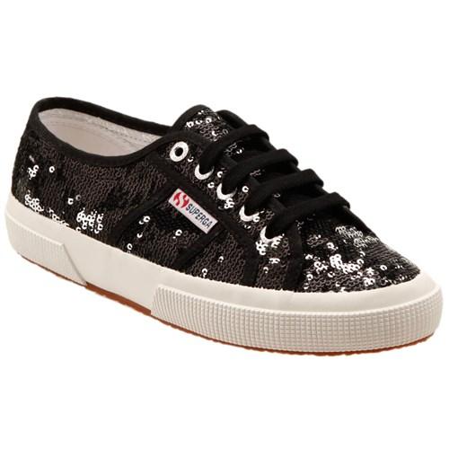 Superga 2750-Paıwreflex Siyah Kadın Sneaker