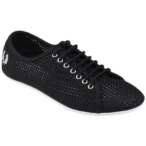 Fred Perry 151 Alley Mesh-B6247w Siyah Kadın Sneaker