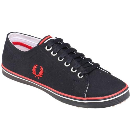 Fred Perry 151 Kıngston Twıll-B6259w Lacivert Beyaz Kadın Sneaker