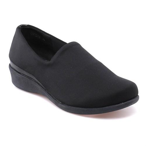 Travel Soft O17046 Siyah Kadın Ayakkabı