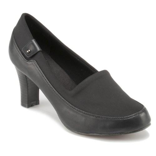 Travel Soft O17053 Siyah Kadın Ayakkabı
