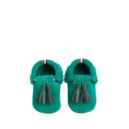 U.S. Polo Assn. Erkek Çocuk Yeşil Ayakkabı