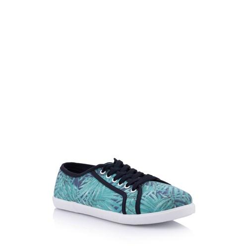 Defacto Desenli Kanvas Spor Ayakkabı