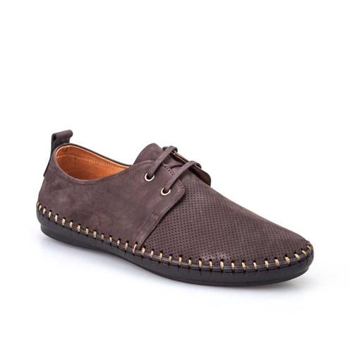 Cabani Erkek Ayakkabı Kahve Nubuk