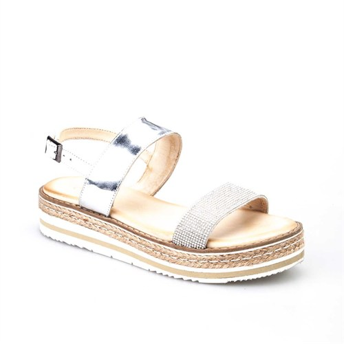 Cabani Kadın Sandalet Gri