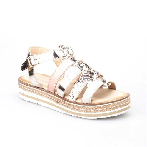 Cabani Kadın Sandalet Altın Rengi