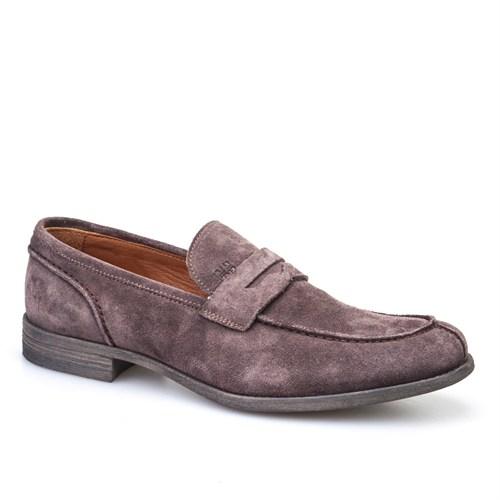 Cabani Kemerli Klasik Erkek Ayakkabı Vizon Süet