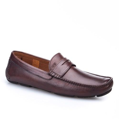 Cabani Makosen Günlük Erkek Ayakkabı Kahve Sanetta Deri