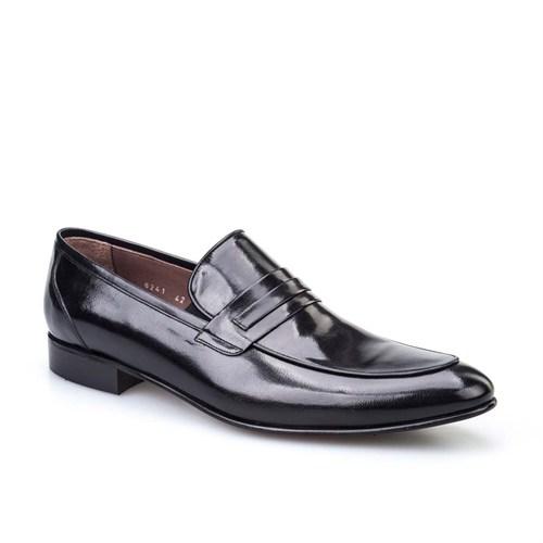 Cabani Günlük Erkek Ayakkabı Siyah Buffalo Deri