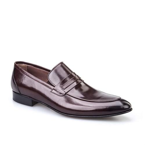 Cabani Günlük Erkek Ayakkabı Kahve Buffalo Deri