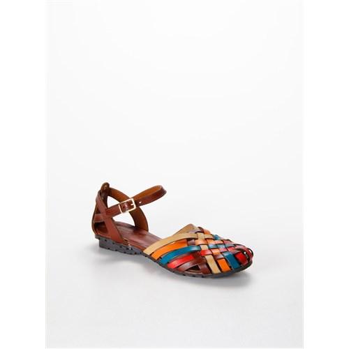 Shumix Günlük Kadın Sandalet El9036-2 1324Shuss.Mrnk