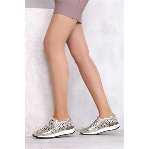 İlvi Mishel 7150 Altın Spor Ayakkabı