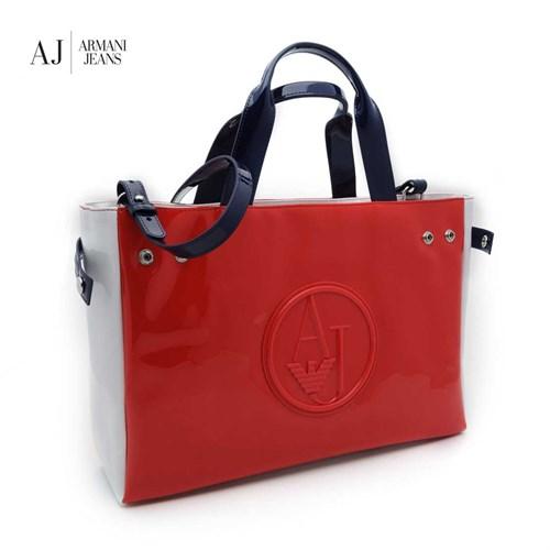 Armani Jeans Çanta C522fu24q Armani Women Bag Rosso - Red