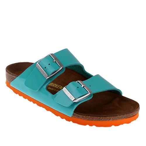 Birkenstock Arizona 652683 Kadın Terlik Oceangreen Ls Orange