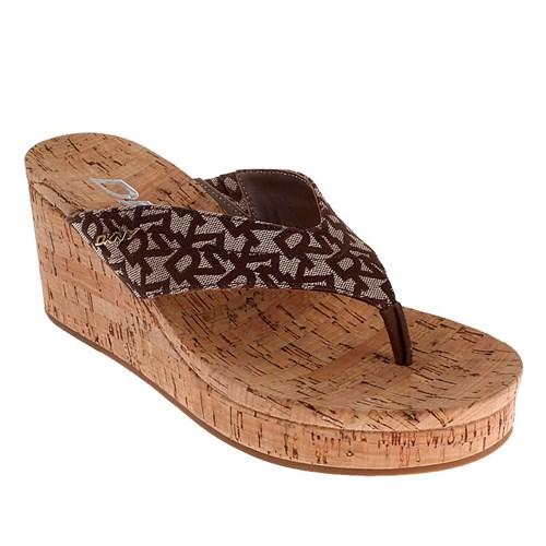 Dkny Lisa Logo Jacquard 23159936 Kadın Ayakkabı Chıno