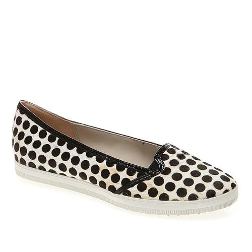 Pretty Nana Cavallino 401130 Kadın Ayakkabı Black Whıte