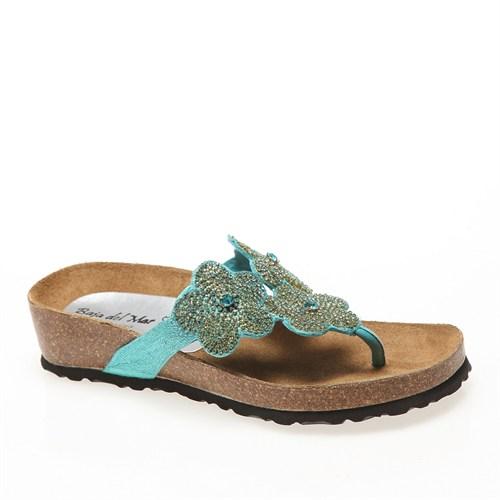 Calzaturoficio Silva A032 Kadın Ayakkabı Turchese