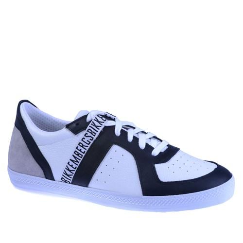 Bikkembergs Diamond 416 i.Shoe M Leat/Suede Wht/Blk/Grey Bke107953 Erkek Ayakkabı Suede Wht/Blk/Grey