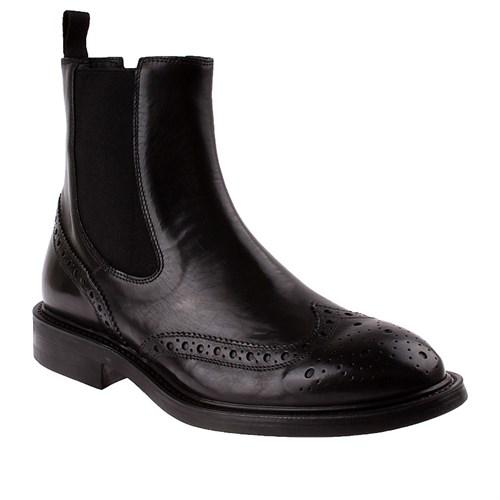 Frau 73P6 Erkek Ayakkabı Siyah