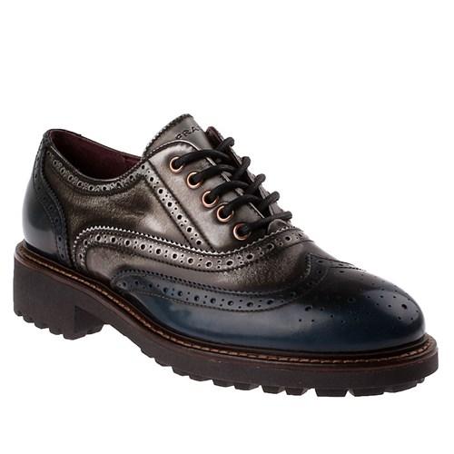 Frau 97X5 Kadın Ayakkabı Navy Sılver