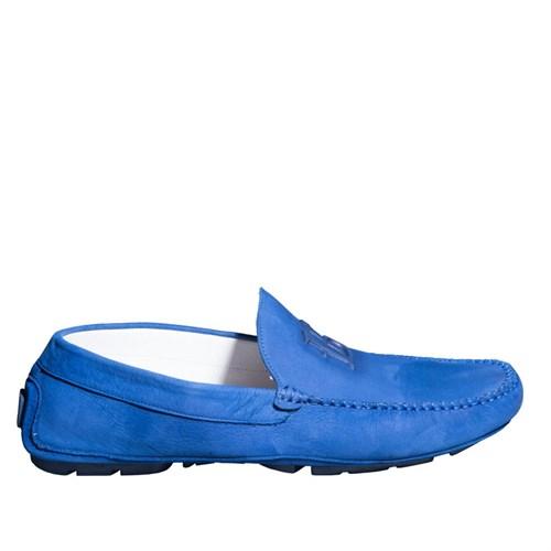 Roberto Botticelli Calz.Uomo Basse Lu29556 Erkek Ayakkabı Nabuk Leggero Bluette
