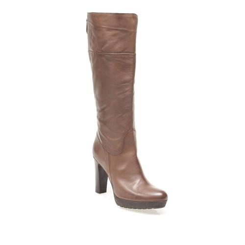 Manas Stivale Donna 132D2407Fq Kadın Ayakkabı Kahverengi