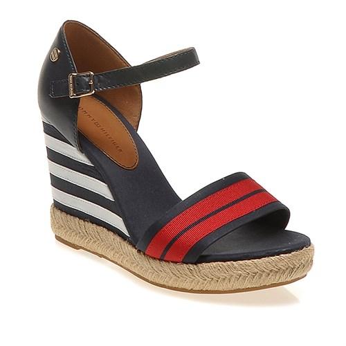 Tommy Emery 42D Fw56816766 Kadın Ayakkabı Red White Blue