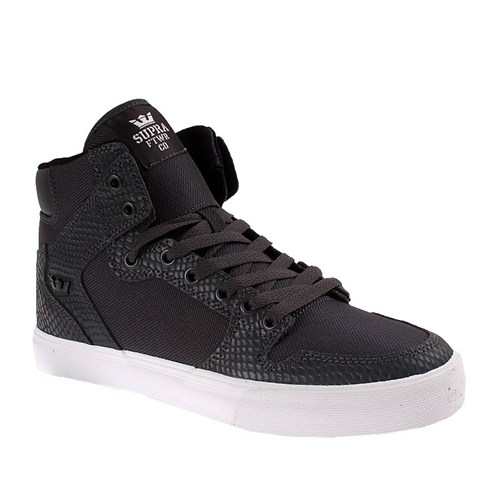 Supra Vaider S28257 Erkek Ayakkabı Grey Snake Whıte
