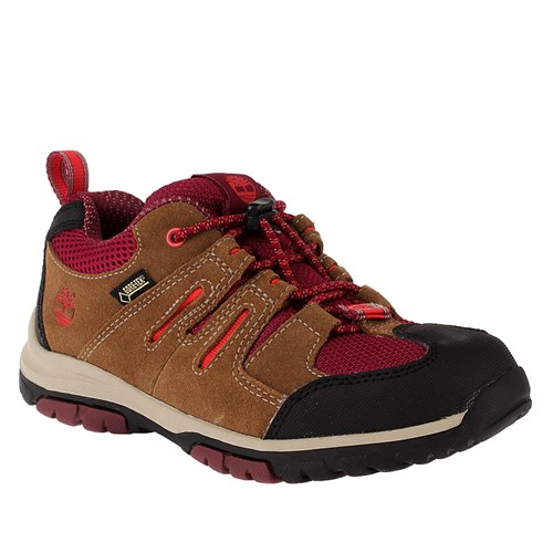 Timberland Zip Trail Gtx Ox A12Lo Çocuk Bot Brown