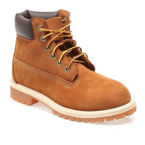 Timberland 6in Classic Boot 14749 Çocuk Bot Rust/Nubuck W/Hone