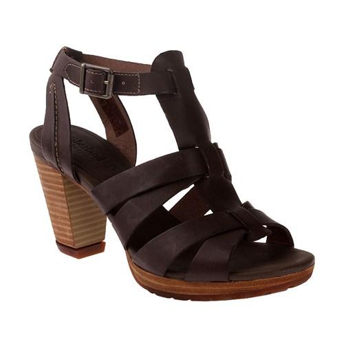 Timberland Ek Exeter Heights Sandal Backstrap 8804A Kadın Bot Dark Olıve Dry Gulch