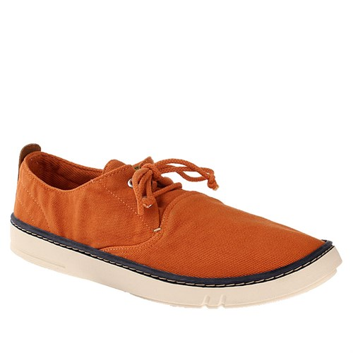 Timberland Ekhoksthand Ox Orang Green 9832A Erkek Bot Orange Washed Canvas