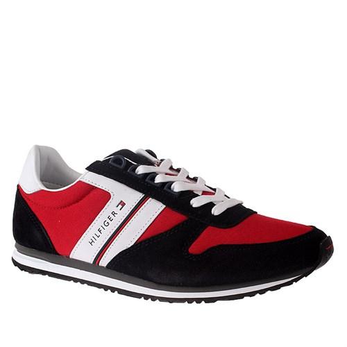 Tommy Hilfiger Sm - M2285Axwell 9C Fm56820440 Erkek Ayakkabı Tango Red