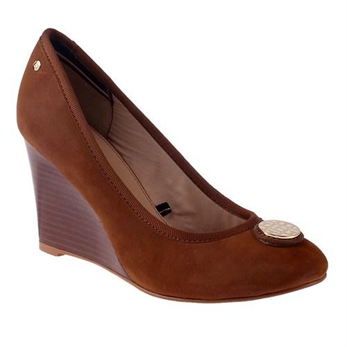 Tommy Hilfiger R1285Osalia 1A Fw56820402 Kadın Ayakkabı Cognac